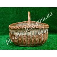 Корзина плетеная для фруктов, овощей,покупок