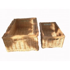 Плетеные коробки 3 шт