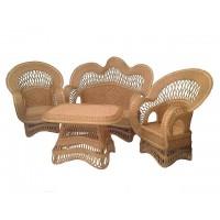 Плетеная мебель из натуральной лозы. Набор для дома, дачи, сауны