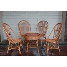 Набор плетеной мебели из лозы