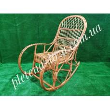 Плетеная кресло - качалка из лозы