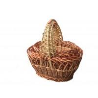 Пасхальные корзині из лозы (4 шт)